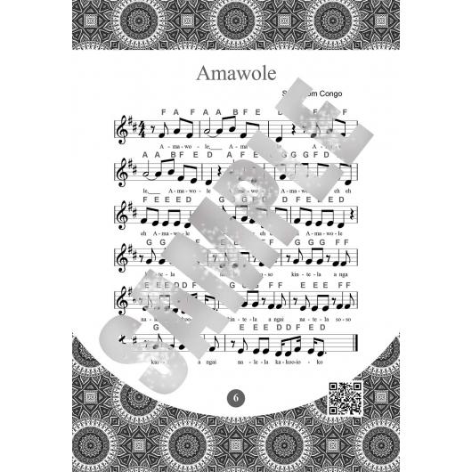 Keyboard for Beginner Adults. 55 Traditional African Songs: Play by Letter