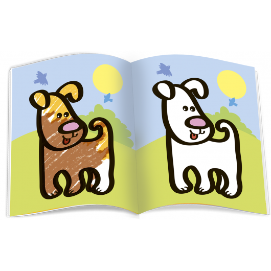 Very First Coloring Book. Familiar Animals. Familiar Things