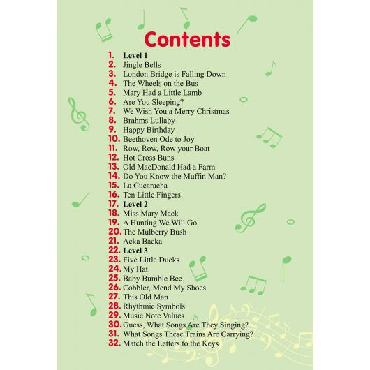 Jungle On! 24 Easy-to-Play Color Songs for Beginners. Paperback