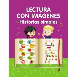 Lectura con imágenes. Historias simples. Aprender a leer Libro