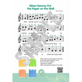 Traditional American Folk Songs for Tongue Drum or Handpan: Playing for Kids