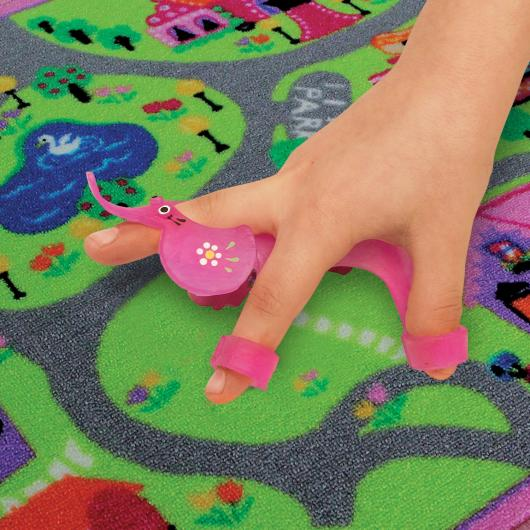 Fine Motor Skill Toy Purple Walking Elephant