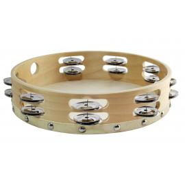 Tambourine 10 inches Double Row Jingles