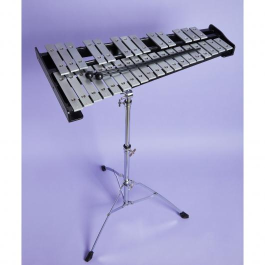 32 keys Glockenspiel Professional Xylophone with Stand, Bag, Rubber Mallets