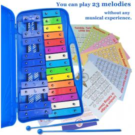 25 Note Chromatic Xylophone, 23 Simple Songs