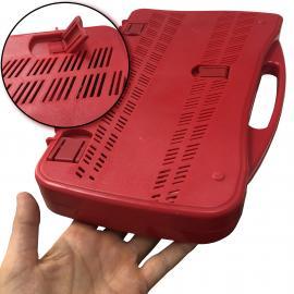 25 Note Chromatic Glockenspiel, Red Plastic Case