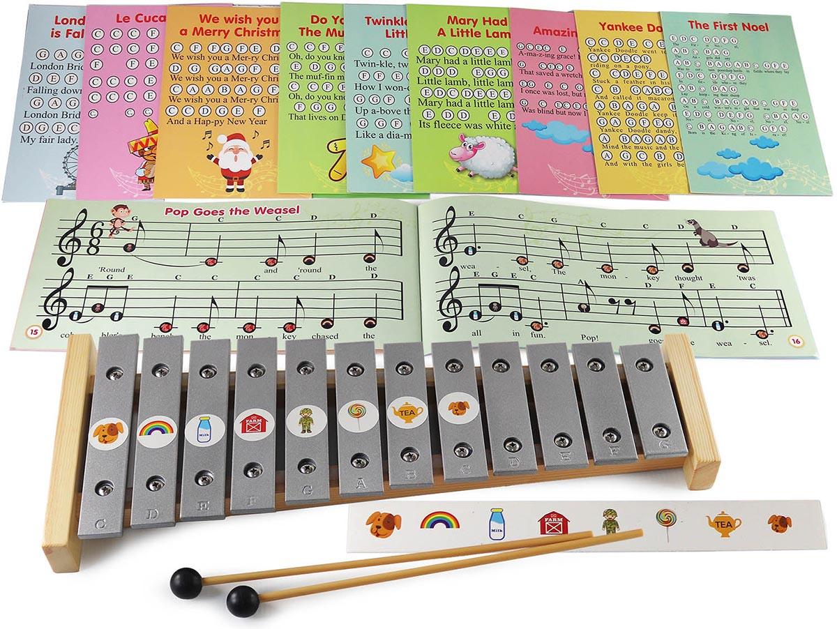 xylophones glockenspiels