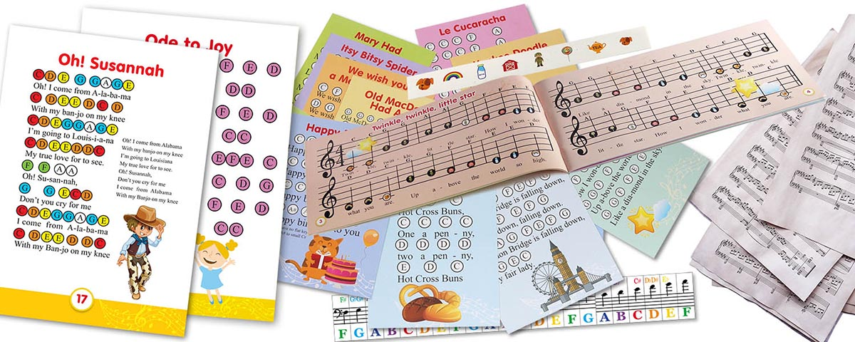sheet music for xylophone