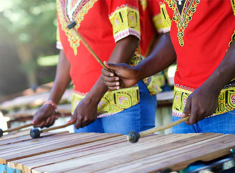 african xylophone play
