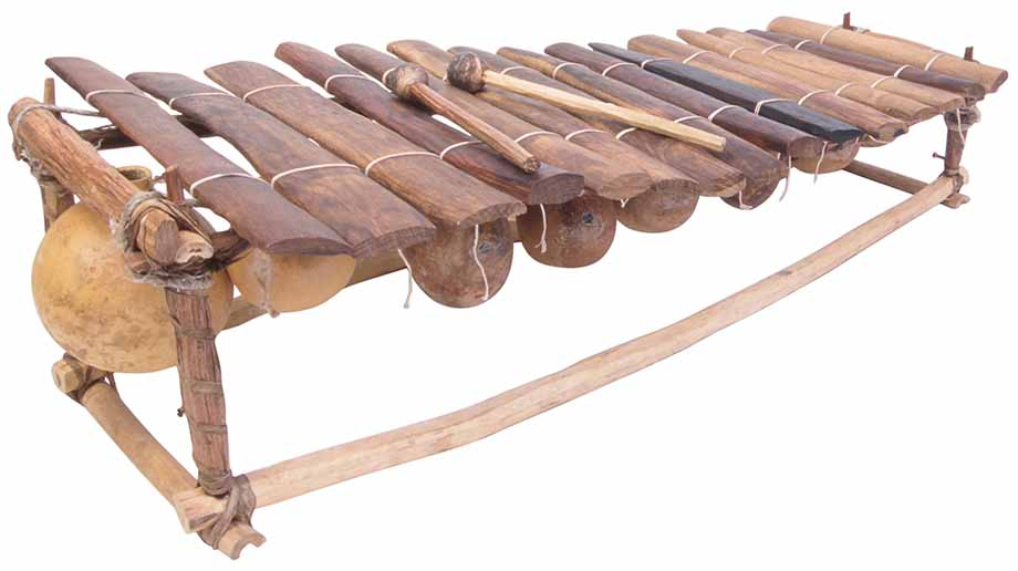 three main types of xylophone in Africa