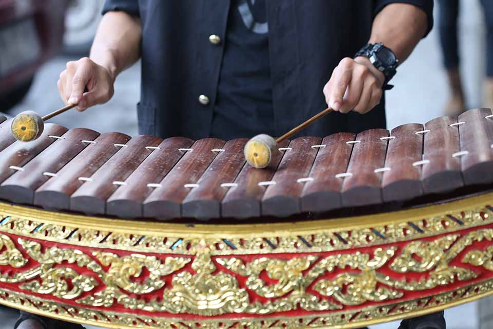 Thailand wooden xylophone